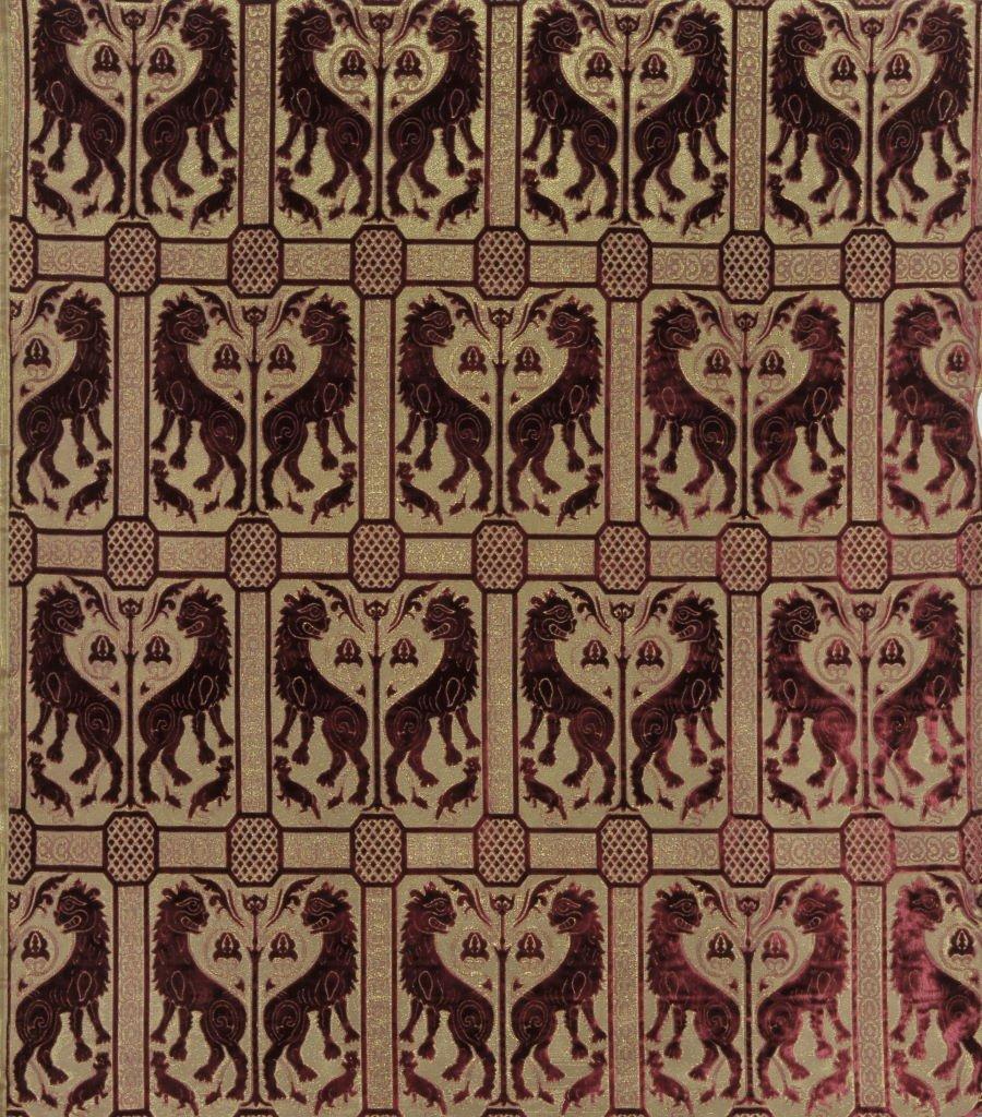 Velluto Leoni Bizantini 004-32173-1