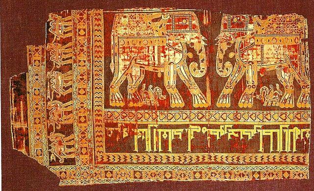 Sasanian_Silk_Samite_cloth_Circa_960