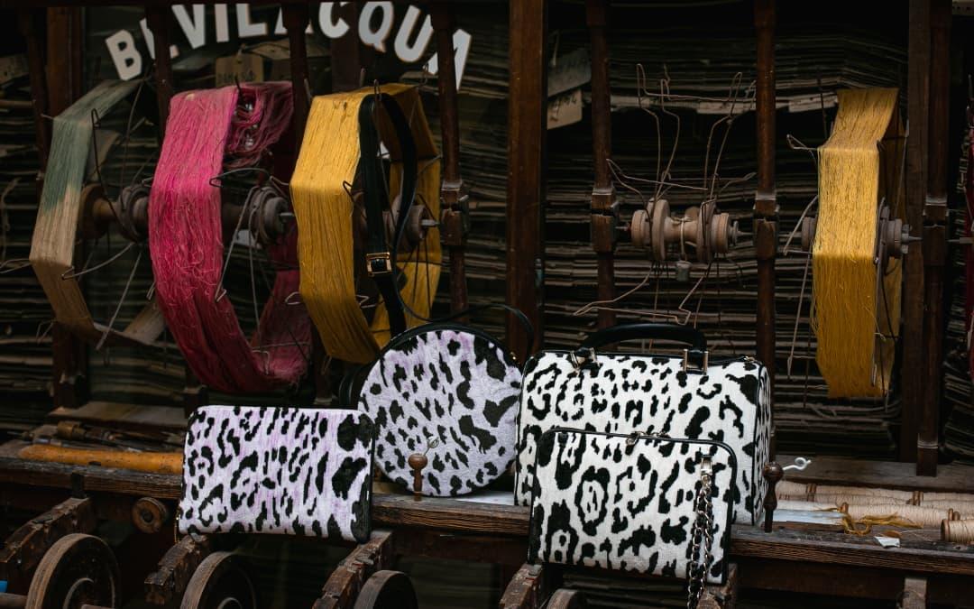 Borse velluto Leopardo | Tessitura Bevilacqua