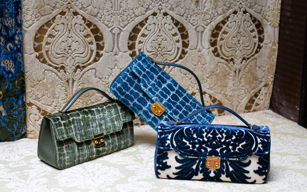 Collezione borse Anna XL | Tessitura Bevilacqua