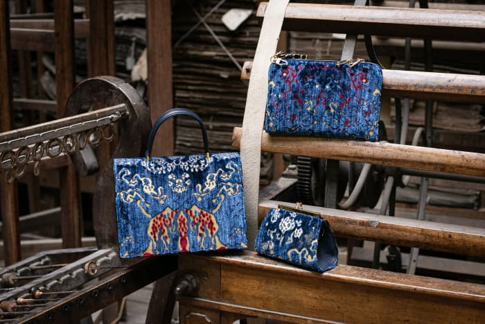 Borse collezione Coralli Peggy Bianca Isabella | Tessitura Bevilacqua