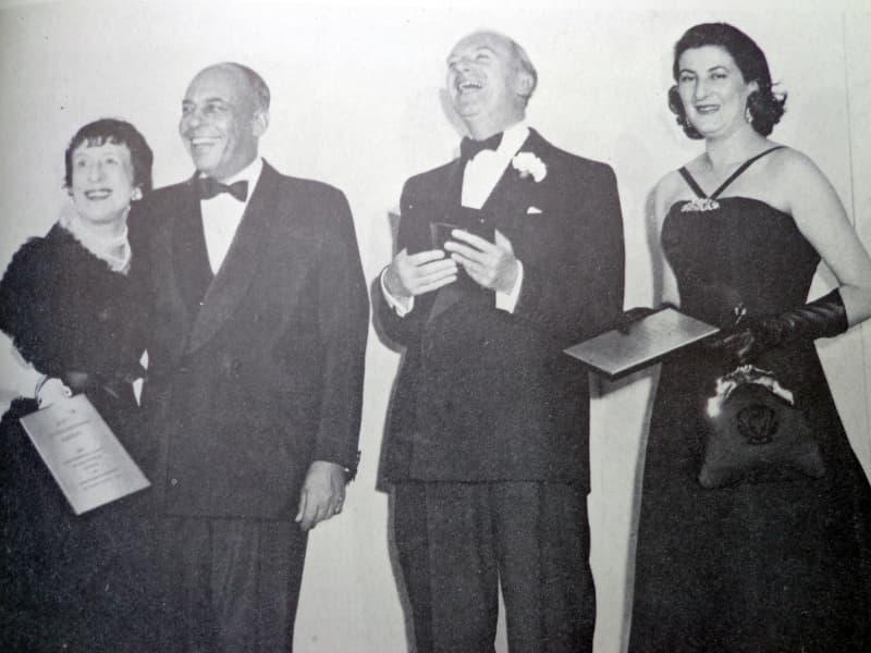 Stanley Marcus e Roberta di Camerino