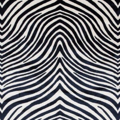velluto animale 800-810 Zebra bianco nero s