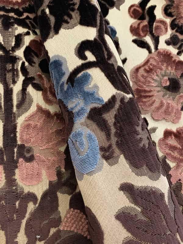 Velluto Palermo Multicolore | Tessitura Bevilacqua