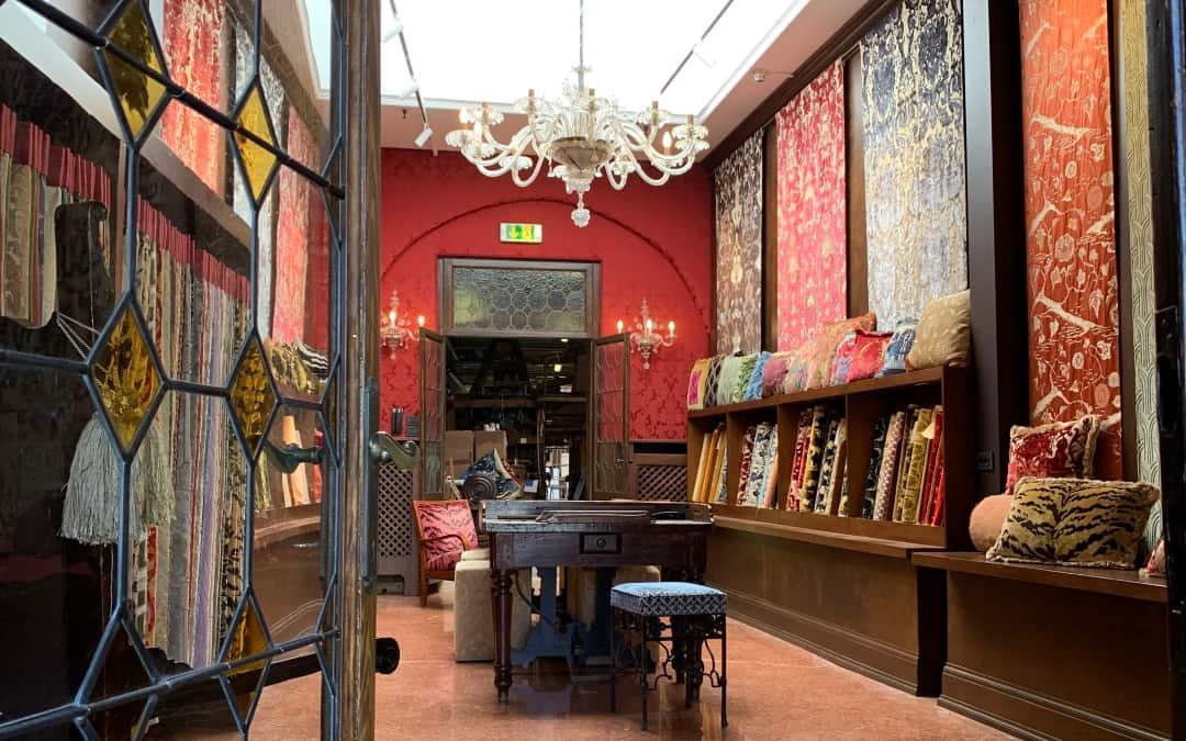 The new Bevilacqua showroom in Venice