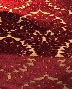 Velluto Ardis rosso | Tessitura Bevilacqua