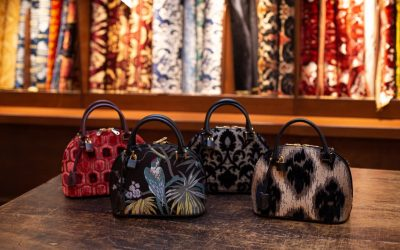 Il fascino misterioso del nero nella nuova collezione di borse Bevilacqua